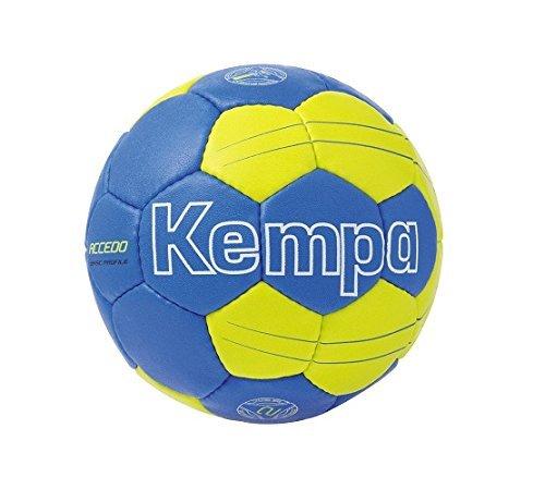 Kempa Ball Accedo Basic Profile Royal/Fluo Gelb Grösse 1