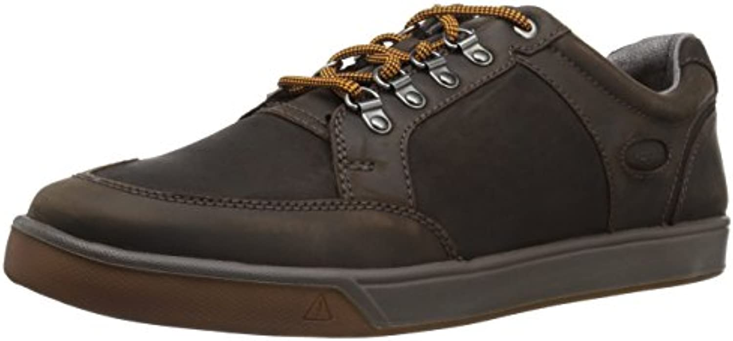 KEEN Men's Glenhaven Explorer Lea m Fashion Sneaker