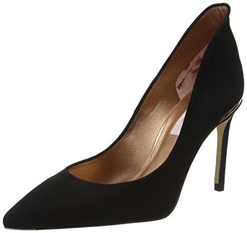 Ted Baker Savio 2, Zapatos de Tacn con Punta Cerrada para Mujer, Negro (Black #000000), 41 EU