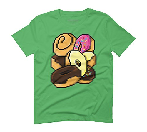Donut Rain Men's Graphic T-Shirt - Design By Humans Green