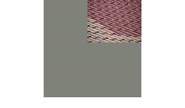 1L Ziegelfarbe Dachfarbe Dachbeschichtung Dachversiegelung In Betongrau  Dachrenovierung Metalldach Blechdach Flachdach Farbe Beschichtung Anstrich  Ziegel ...