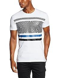 Antony Morato Girocollo Stampa Geometrica, T-Shirt Homme