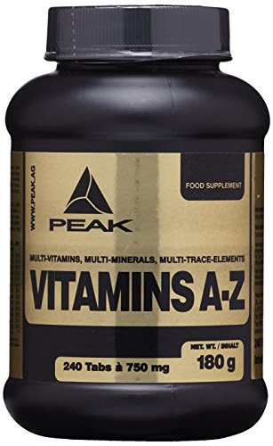 PEAK Vitamin A-Z - 240 Tabletten à 750mg