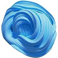 Preisvergleich für Ouneed fluffy floam slime stress relief kein borax kinder spielzeug schlamm spielzeug (Blau)