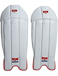 BDM Commandant contre Superlite Cricket Garder Nylite Pads Leg Guard