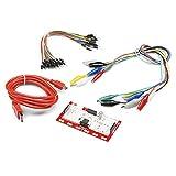 Luxtech Makey Makey Kit Standard mit Bedienfeld, Komplettset MK Deluxe mit USB-Kabel