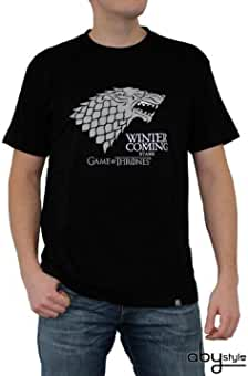 ABYstyle abystyleabytex221-l Abysse Juego de Tronos Winter Is Coming de manga corta Hombre basic