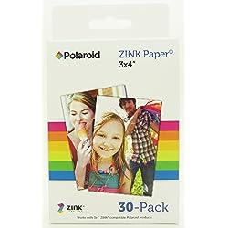 Polaroid M 340 Papier photo zinc 3 pochettes de 10 papiers 7,5x10 cm