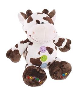 Buttons - Vaca de peluche (Humatt 61210) , Modelos/colores Surtidos, 1 Unidad