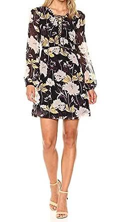 Ella Moss Womens Floral Skirt