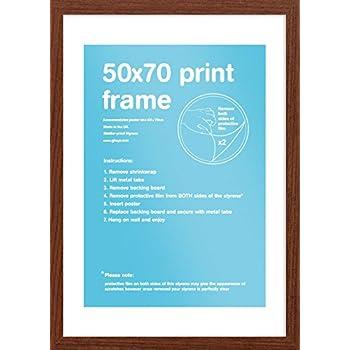 GB eye Eton Frame, Walnut, 50 x 70 cm: Amazon.co.uk: Kitchen & Home