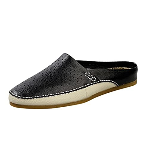 Spades & Clubs Mens Summer Leather Breathable