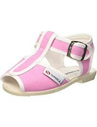 Superga 1200-Cotj, Chaussures à Brides Unisexe-Enfant, Rose