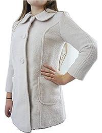 TOP SHOP Pale Pink Wool Blend Button Up Jacket