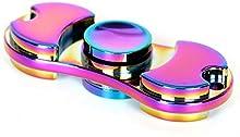 Hand Spinner juguete del alivio de tensión, aleación de aluminio mano de colores Spinner EDC Fidget juguete reductor de estrés Hecho Enfoque Teniendo ansiedad Relief Juguetes para Killing Time