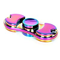 Hand Spinner Stress Relief Toy, Colourful Aluminum Alloy Hand Spinner