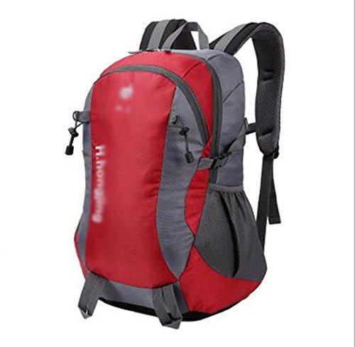 GBT Europäische Großraum-Mehrzweck-Outdoor-Bergsteigen Taschen Red