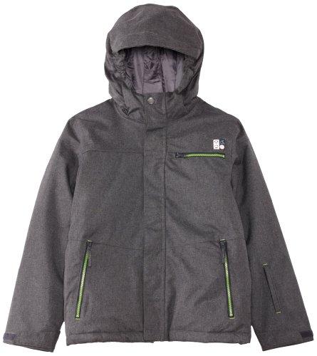 Dare2b Boy's High Five Jacket, Ebony Grey, 32/13-14 - High Five Jacke Kinder