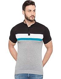 Globus Colorblocked Polo Neck T-Shirt