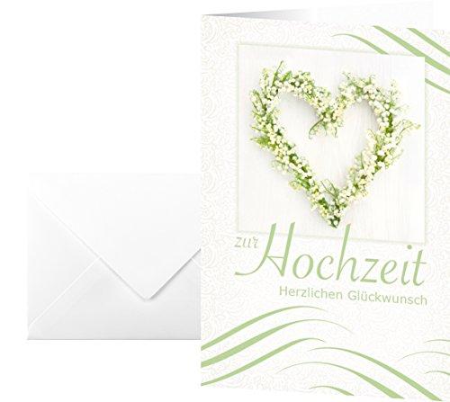 Sigel Glückwunsch-Karten Hochzeit