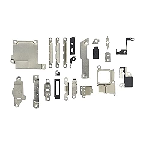Cformac - Kit Support Pieces Metal Métallique Intérieur Carte Mère Châssis Iphone 5S
