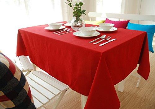 GS~LY Caldo tovaglia Romance/Table runner di stile Coreano cotone poliestere solido tovaglia di colore / caffè tovaglia tovaglia / per partito home ristorante , rosso , formato personalizzato