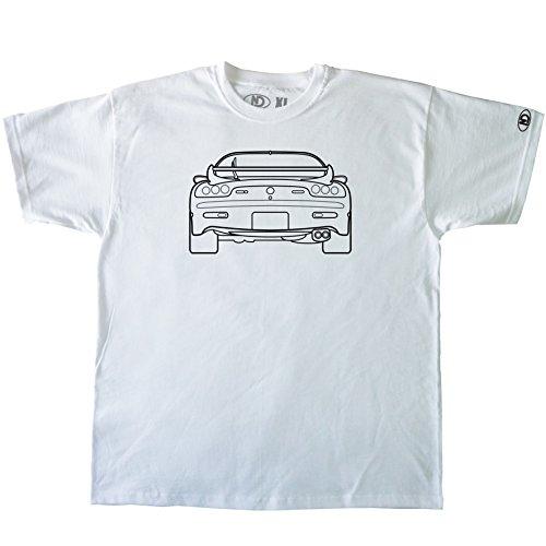 Nicram Designs Herren Rundhalsausschnitt T-Shirt Weiß - Weiß