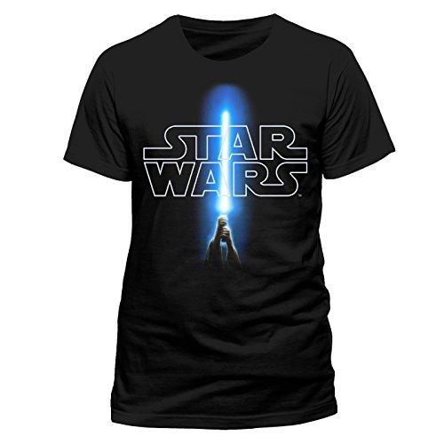 Star Wars - Logo & Saber (Unisex) (XL)