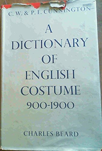 Dictionary of English Costume, 900-1900