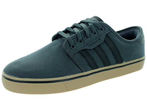Adidas Performance Seeley Skate scarpe, cenere grigia / bianco / nero, 4 M Us Dsogr/Cblack/Gum