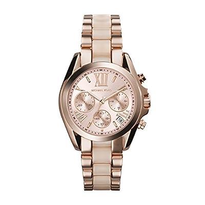 Michael Kors MK6066 - Reloj de cuarzo con correa de acero inoxidable para mujer, color rosa