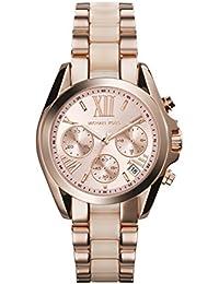 Michael Kors Reloj analogico para Mujer de Cuarzo con Correa en Acero Inoxidable MK6066
