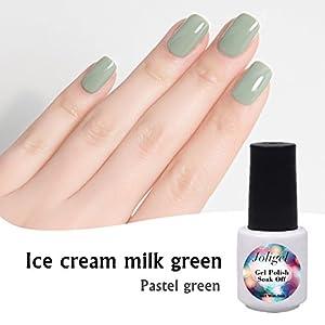 servicios de mensajeria internacional: Verde Pastel, Joligel Esmaltes Permanentes Gel Perlado para Uñas Shellac Pintauñ...