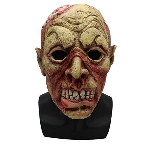LYLLB-festival items Latex Roaring Bösewicht Maske Kopfbedeckung Halloween Party Kostüm Dekorative ()
