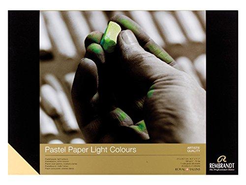Tarensu Rembrandt Pastellpapier Helle Farbe 210x297mm 30 Blätter Rechtschreibung