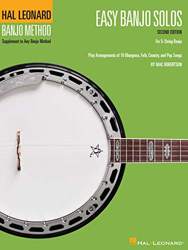 Easy Banjo Solos: For 5-String Banjo (English Edition)
