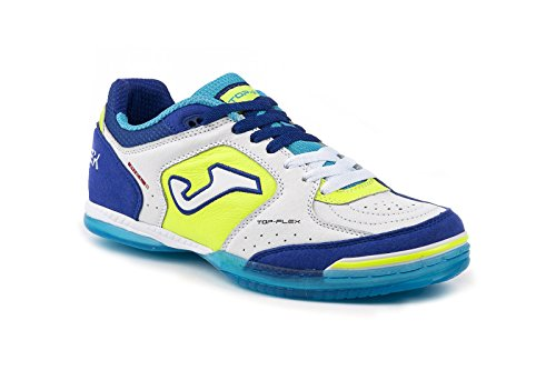 Joma Top Flex 622 White-Blue Indoor TOPW.622.IN (38)