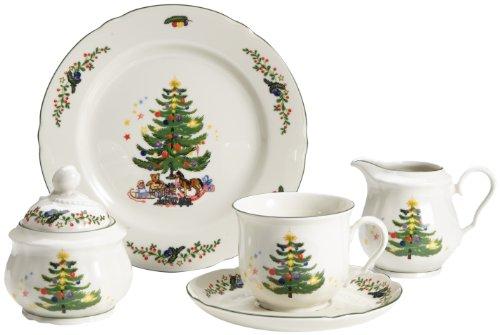 flirt geschirr weihnachten Seltmann Weiden 001.301290 Kaffeeservice Marie Luise Weihnachten, 20-teilig