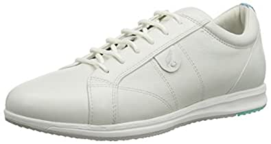 Geox  D AVERY A, Sneakers Basses femme - Blanc - Weiß (WHITEC1001), 42