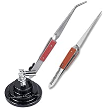 PTL® Prestige 3rd tercera mano Base con 2 soldadura pinzas mano bisutería herramientas # 03317