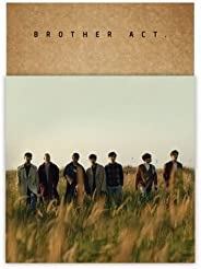BTOB - [BROTHER ACT.] 2nd Album CD+Booklet+PhotoCard+Bookmark+Mini Poster(On Pack)+Event Paper K-POP SEALED