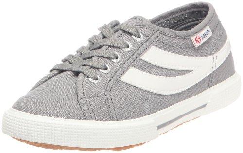 Superga 2951 COTJ S004WM0, Unisex - Kinder Sneaker Grau