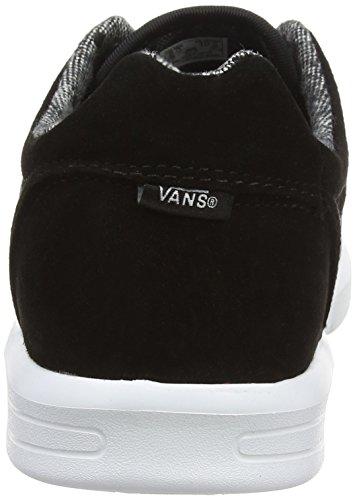 Vans Unisex-Erwachsene Iso 1.5 Sneakers Schwarz (Tweed Dots black/true white)