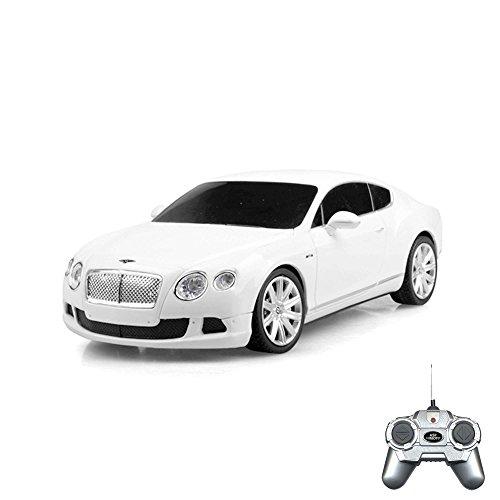HSP Himoto Bentley Continental GT - RC ferngesteuertes Lizenz-Fahrzeug im Original-Design, Modell-Maßstab 1:24, Ready-to-Drive, Auto inkl. Fernsteuerung