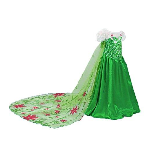 Imagen de disfraz de la princesa elsa anna de frozen vestido niña 140 6 8 años  alternativa