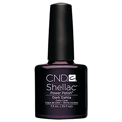 CND Shellac Nail Polish, Dark Dahlia 1er Pack (1 x 7.3 ml)