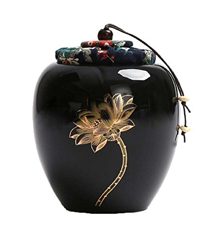 Alien Storehouse Keramik Tee Vorratsbehälter Küche Speicher Kanister Jar für Candy Kaffee - 9,7 x 12,2 cm/3,8 x 4,8 Zoll - 29 - Candy Süßigkeiten Jar