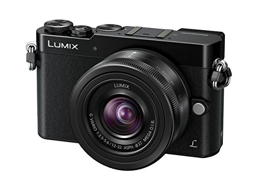 "Panasonic Lumix DMC-GM5 - Cámara EVIL de 16 Mp (pantalla 3"", estabilizador óptico, vídeo Full HD), color negro - Kit cuerpo cámara con objetivo 12-32 mm (importado)"