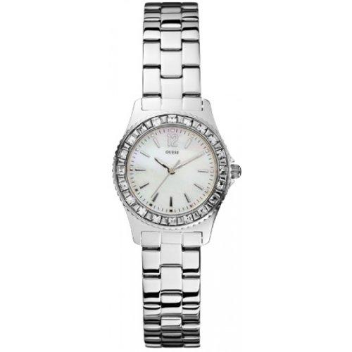 GUESS Analog White Dial Women's Watch - W0025L1 image