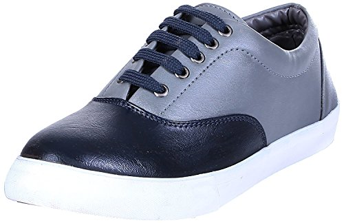 ROYAL KURTA Tag 7 Men's Synthetic Sneakers 8 Black
